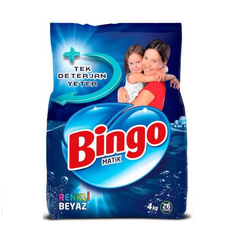 Bingo Matik Renkli&Beyaz 4 Kg