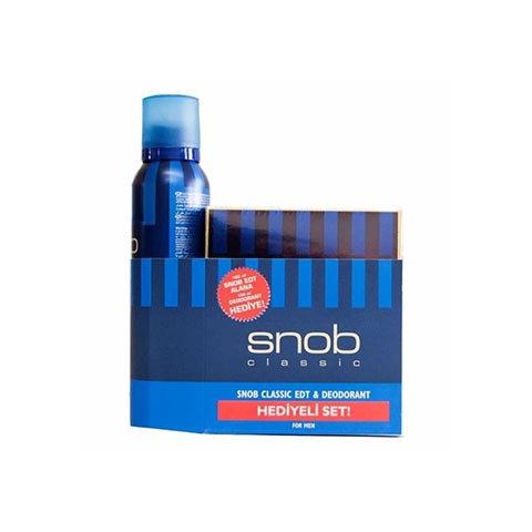 Snob Edt 100ml Erkek Parfüm +Deodorant 150ml Classic