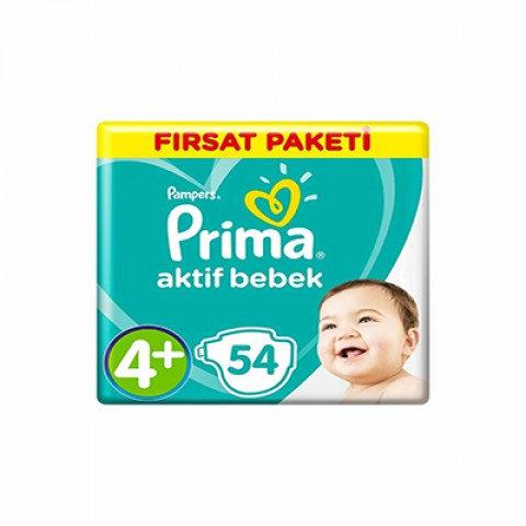 PRİMA AKTİF FIRSAT PAKETİ 4+ BEDEN 54lü