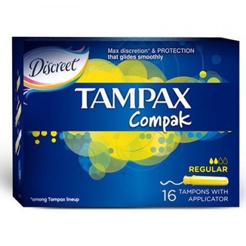 Tampax Tampon Normal 16 Adet