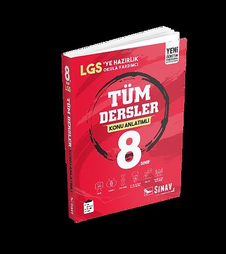 Sınav Yayınları 8. Sınıf LGS Tüm Dersler Konu Anlatımlı