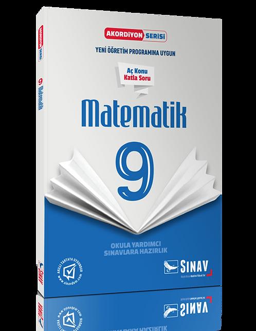 ınav Yayınları 9. Sınıf Matematik Akordiyon Kitap
