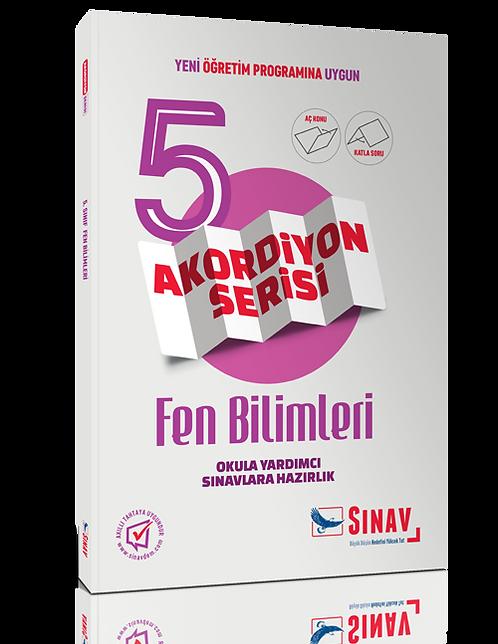 Sınav Yayınları 5. Sınıf Fen Bilimleri Akordiyon Kitap