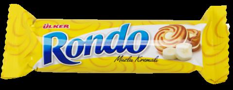Ülker Rondo Muz Aromalı Bisküvi 76 Gr