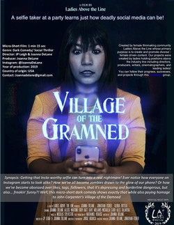 Village on the Gramned - horror