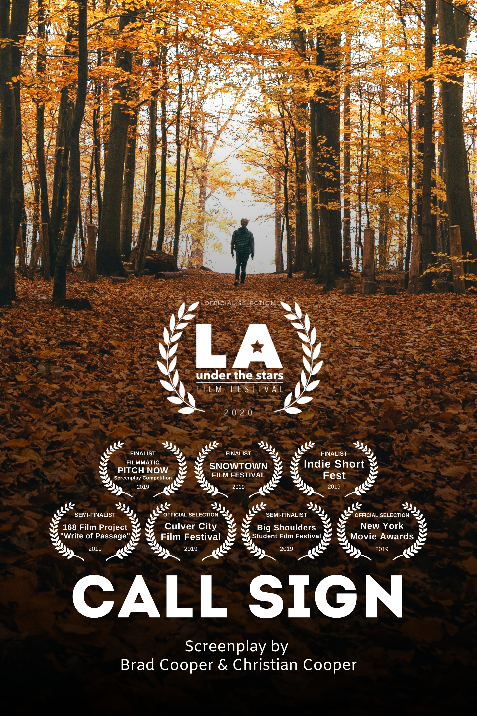 Call Sign Poster Tall - LAUTS v2