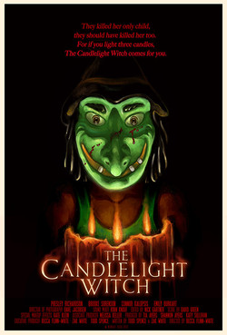 CANDLELIGHT WITCH POSTER