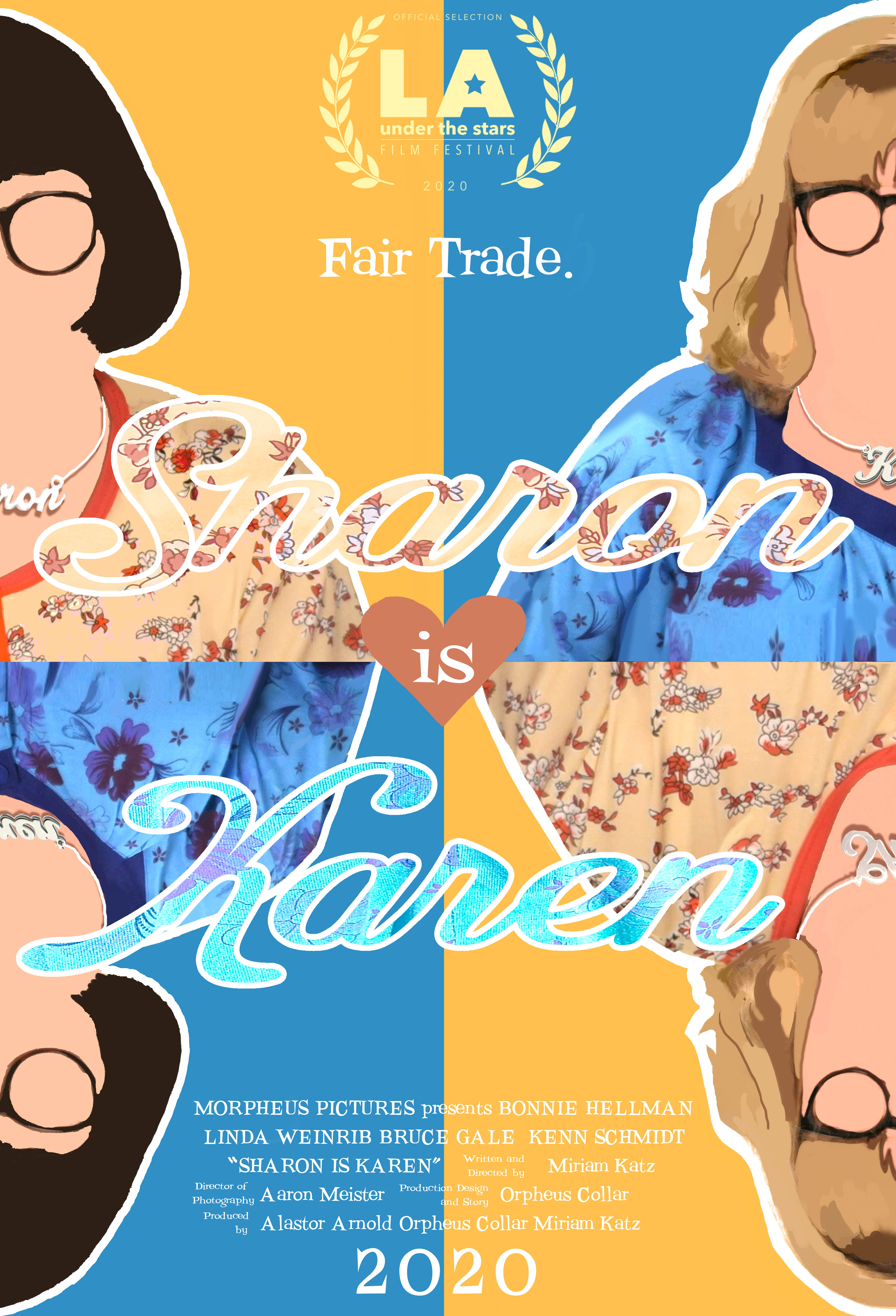 SharonIsKaren_LAUTSposter