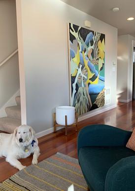 Artist's home Seattle, Washington