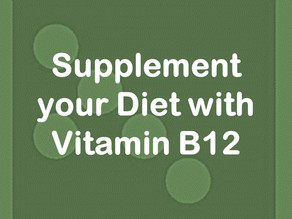Supplement your Diet with Vitamin B12