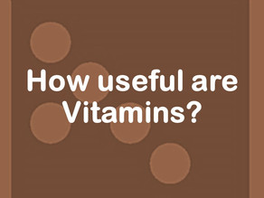 How useful are Vitamins?