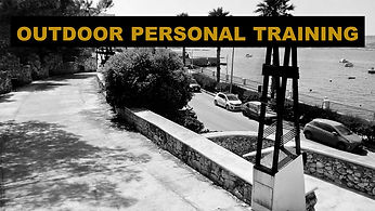 Outdoor personal training Bugibba malta.