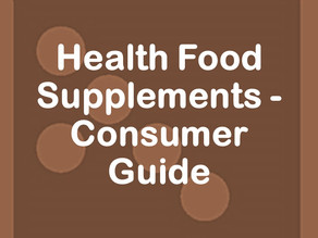 Health Food Supplements - Consumer Guide