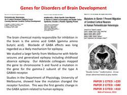 Genes for brain development disorder