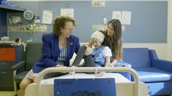 Natasha, Kylie and me in ward