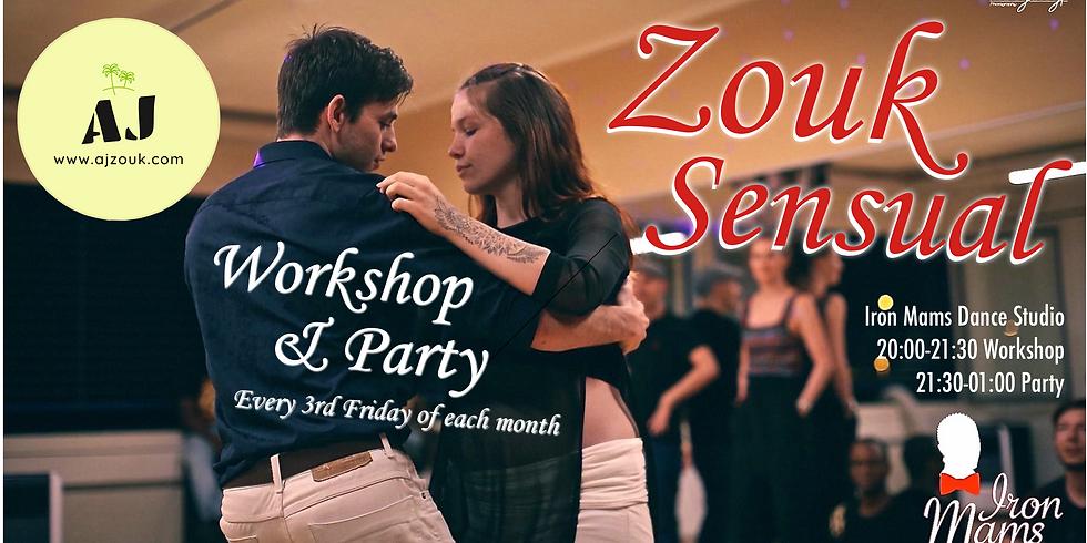 AJ Zouk Sensual: Workshop & Party