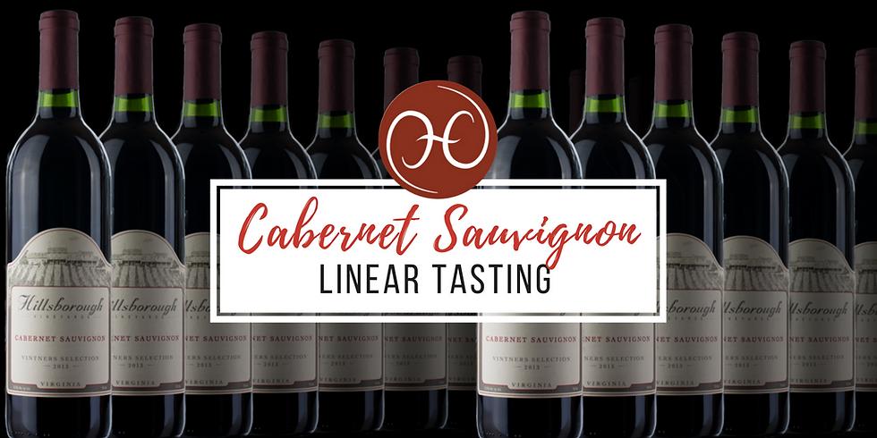 Cabernet Sauvignon Linear Tasting