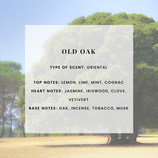 OLD OAK SCENTED CANDLE