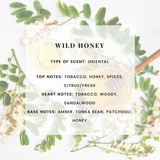 WILD HONEY SCENTED CANDLE
