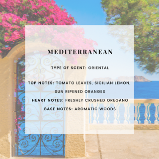 MEDITERRANEAN SCENTED CANDLE