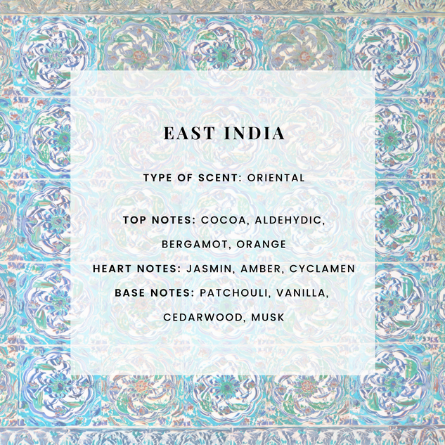 EAST INDIA SCENTED CANDLE