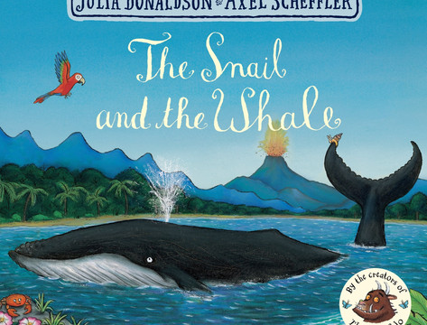 Miss Lycett reads The Snail and the Whale