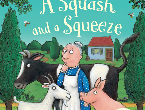 Miss Fryer reads A Squash and a Squeeze