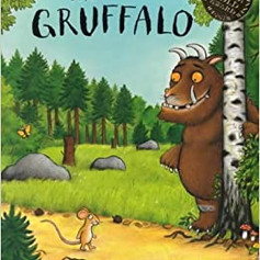 Miss Stock reads The Gruffalo