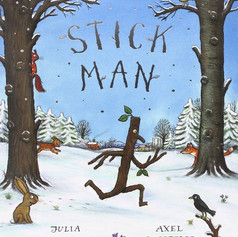 Miss Poole reads Stick Man