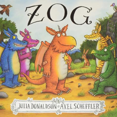 Mr Mitton reads Zog