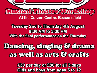 Annie Musical Theatre Workshop this Summer!