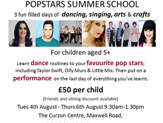 Dance Dynamic Summer School and Adult Classes