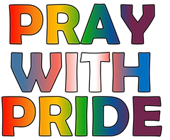 T-Shirt Pray with Pride