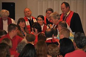 Ordination living on hands