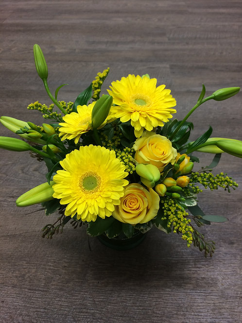 Fresh Arrangement of Yellows