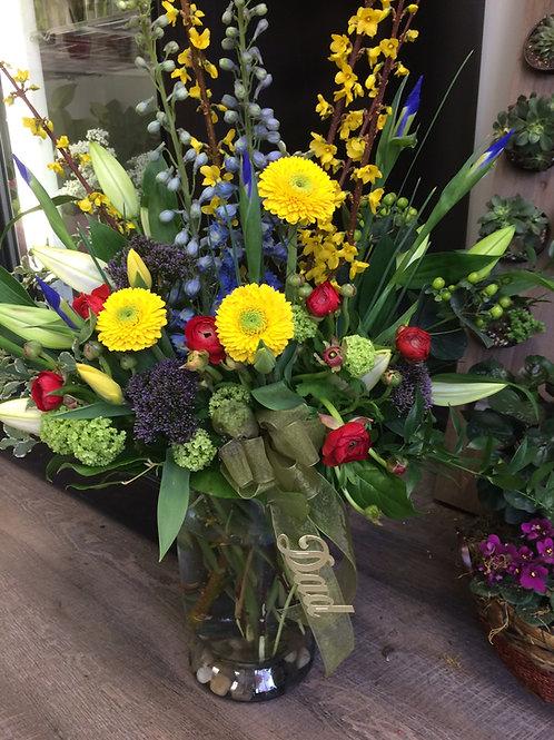 Vase Arrangement Summer Mix
