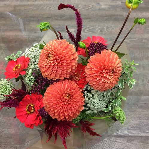 Bouquet of Warm Summer Flowers