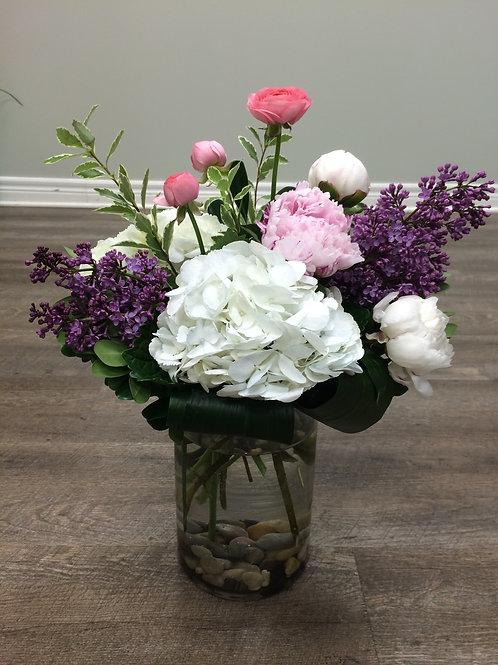 Deluxe Spring Vase of Flowers
