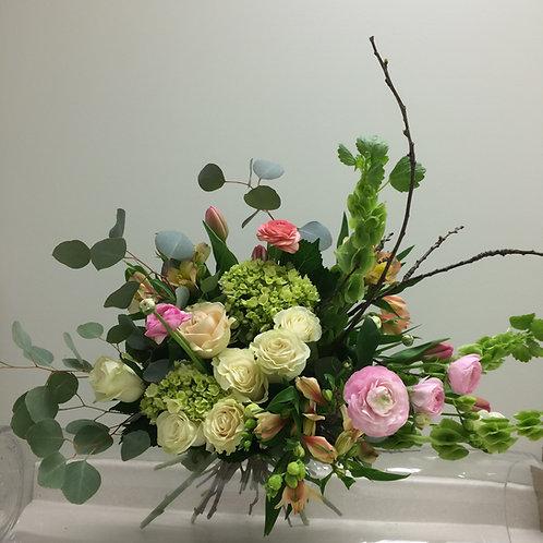 Fresh Asymmetrical Bouquet