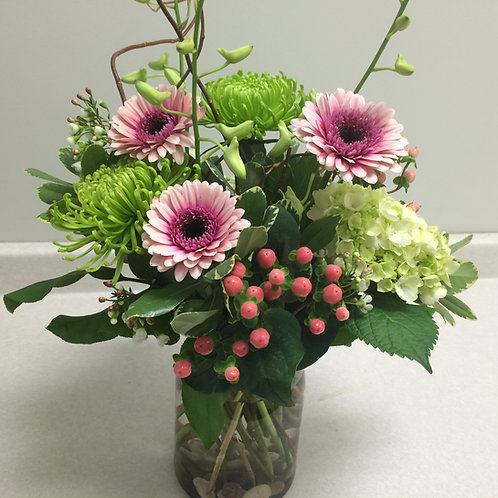 Arrangement with Seasonal Flowers
