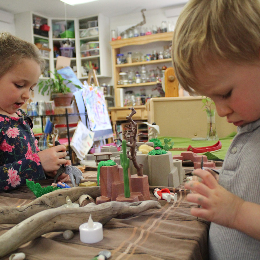 more tiny village play