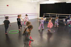 Dance Class & Han Solo Field