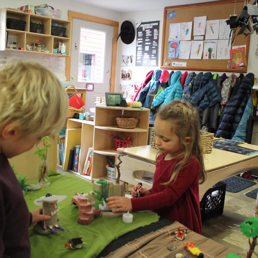 tiny village play
