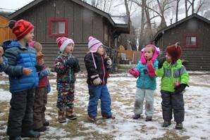 Mud, Snow, symbols & outside fun