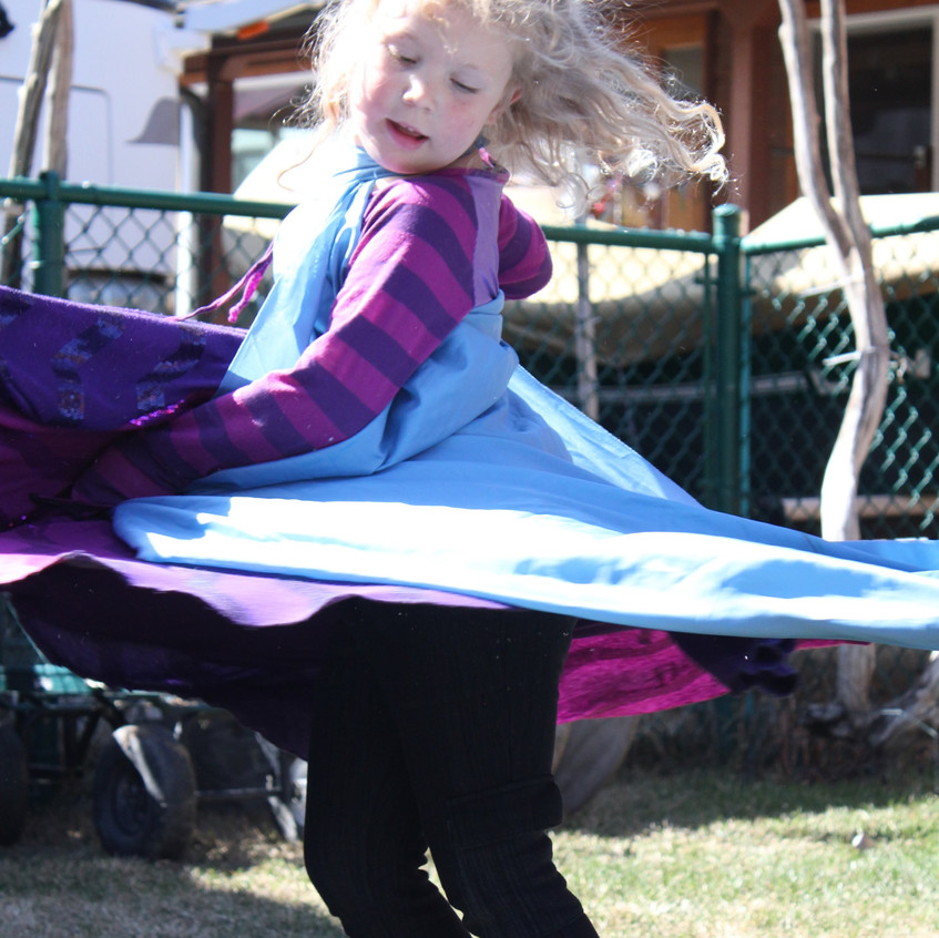 Nothing better than twirling!