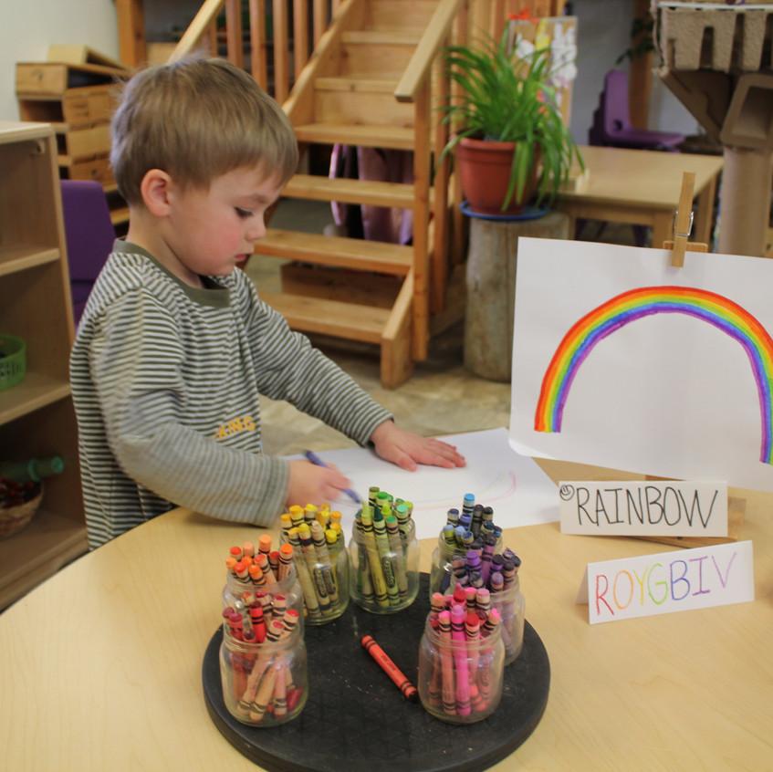 Rainbow making