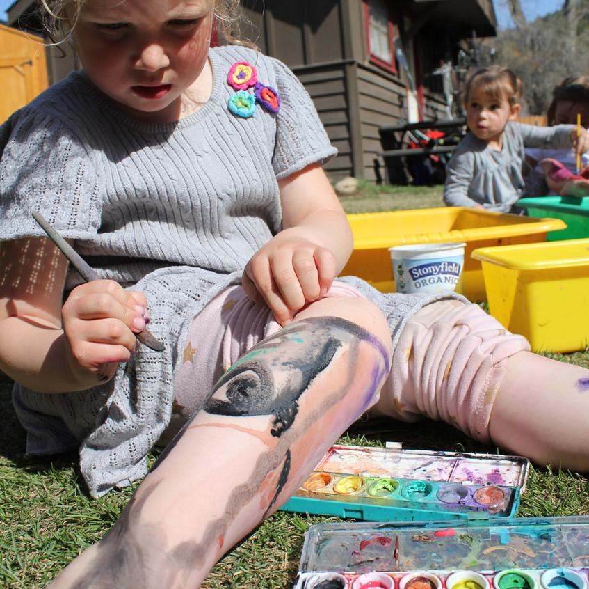 Making a tatoo