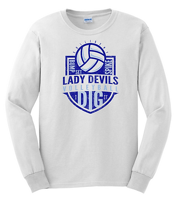 Lady Devils Volleyball LS T