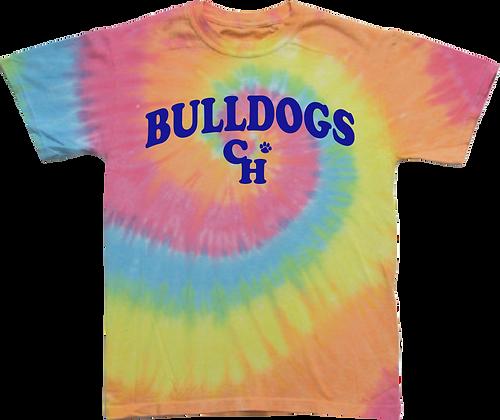 Bulldogs Tie Dye T