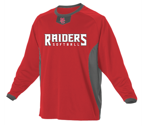 Badger Long Sleeve Pullover Practice Jersey